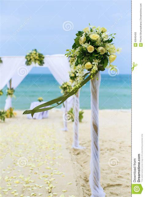 Flower Settings For Weddings by Wedding Flower Setting Stock Photo Image 63945450