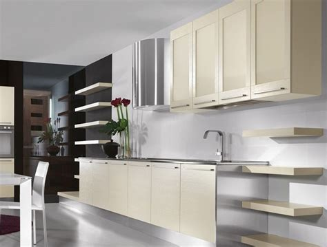 Modern Kitchen Cabinet Decorating With White Kitchen Cabinets Designwalls