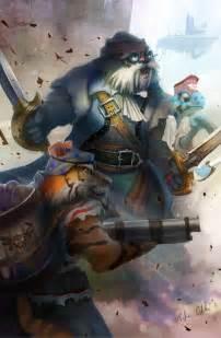 pirate animals tyleredlinart deviantart