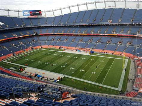 sports authority field sections sports authority field section 503 rateyourseats com