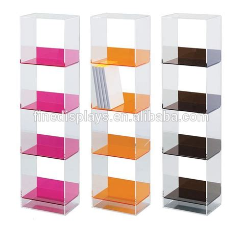 acrylic bookshelves acrylic cd dvd racks shelves dvd acrylic storage furniture ds a 351 buy acrylic cd dvd racks