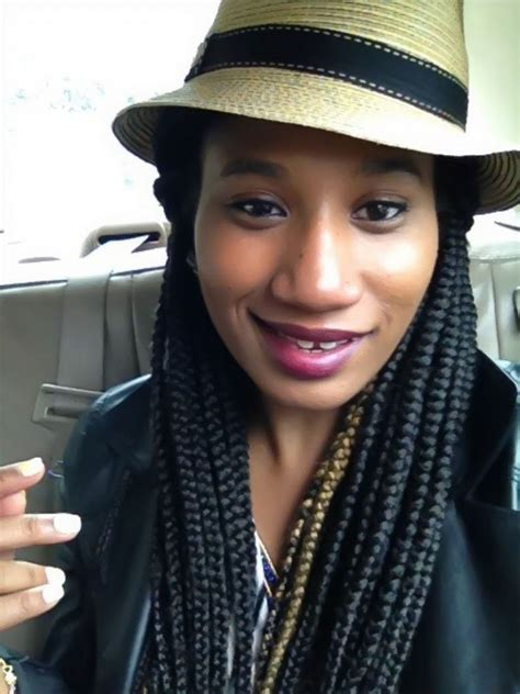wear a hat with braids 42 best big box braids styles with images lifestyle nigeria