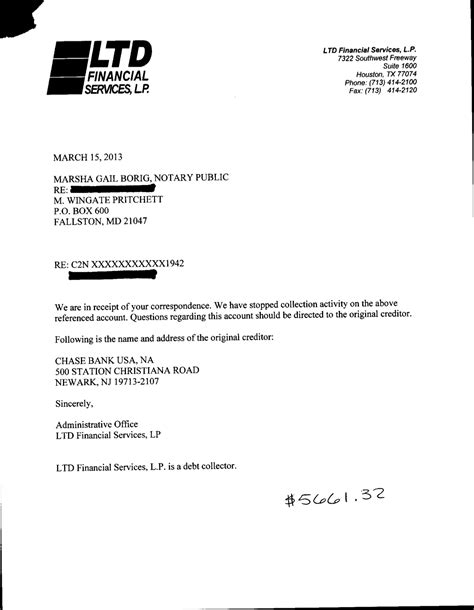 Credit Letter From Bank Exle Letters For Debt Settlement Validation Credit
