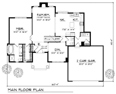 1900 sq ft house plans traditional style house plan 3 beds 2 5 baths 1900 sq ft