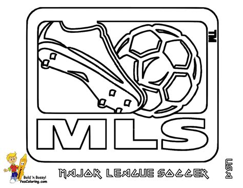 Soccer Picture Coloring Usa Mls Soccer East Free Coloring Pages Soccer