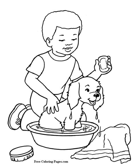 dog coloring pages games kids games online