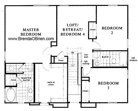 Open Concept Bungalow House Plans by Black Horse Ranch Floor Plan Kb Home Model 2245 Up Stairs