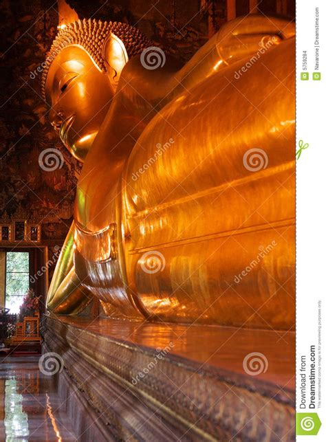 giant reclining buddha giant reclining buddha stock images image 5759284