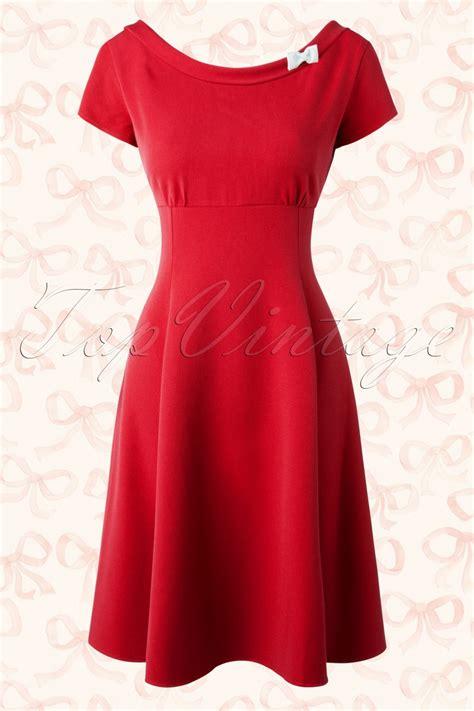 swing bow 50s miriam bow swing dress in