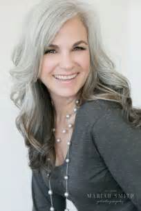grey hair in 40 s best hair color ideas for women over 40 best hair color