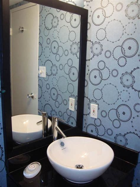 can you put wallpaper in the bathroom wallpaper ideas to make your bathroom beautiful ward log
