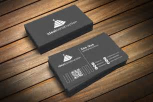 black business card template 40 absolutely free premium mockup psds design resources