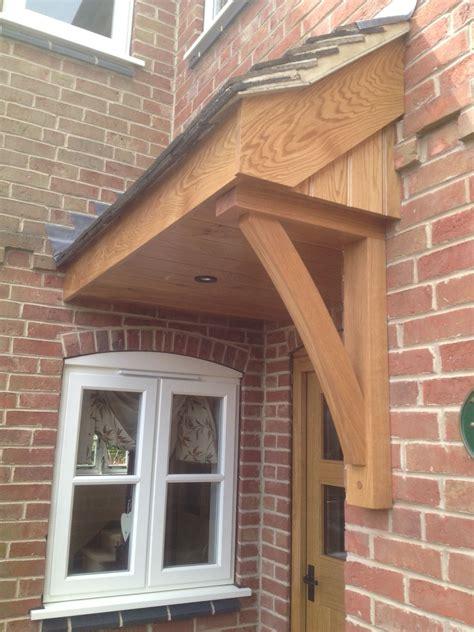 kiln dried oak canopy   front door home