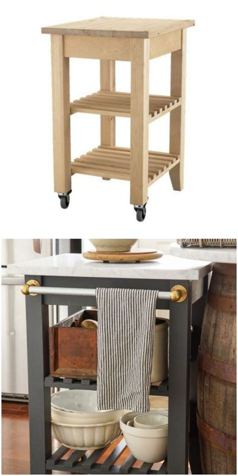 portable kitchen islands ikea the 25 coolest ikea hacks we ve seen k 246 k inredning