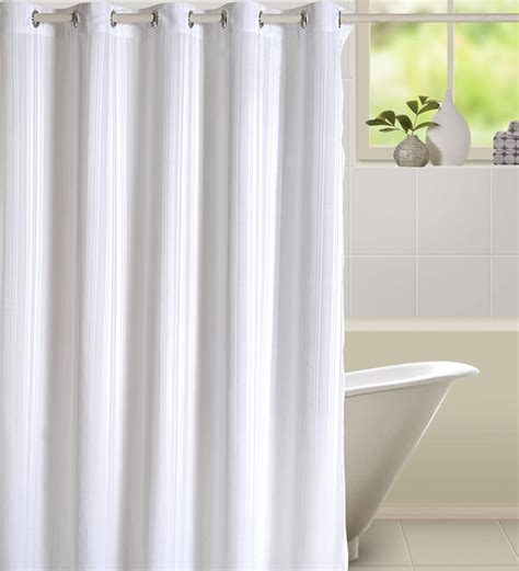 pepperfry curtains swayam plain premium shower curtain by swayam online