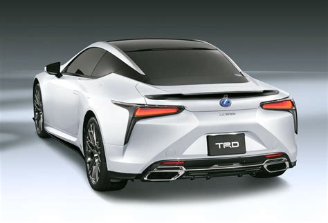 lexus trd trd works its magic on the lexus lc autoevolution