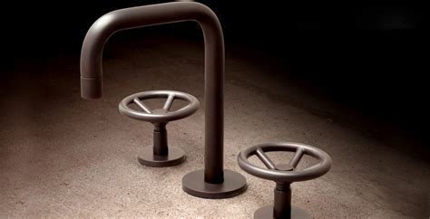 Industrial Bathroom Faucets by Industrial Chic Brass Faucets By Watermark Designs