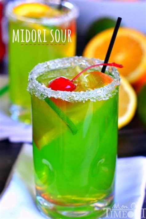 easy cocktails midori sour recipe mom on timeout