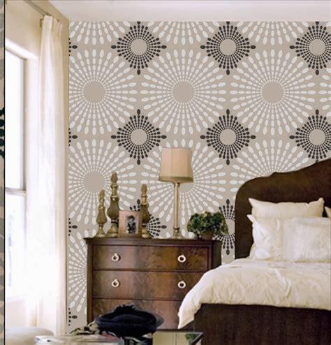 Bedroom Wall Stencils Design 1 Original Bathroom Ideas Pinterest Wall Stenciling Stenciling And Wallpaper