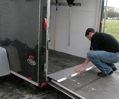 slider plates  safe  easy trailer loading pit products