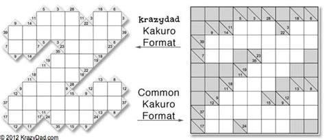 printable puzzles by krazydad kakuro online puzzles free