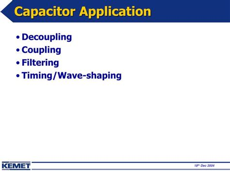 capacitor applications ppt ppt capacitors application edward chen powerpoint presentation id 4340485