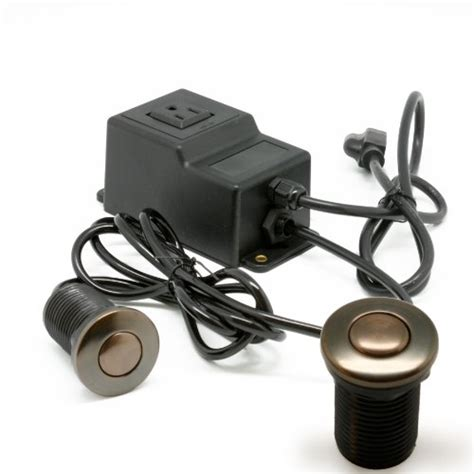 garbage disposal switch sink single outlet sink garbage disposal air activated switch