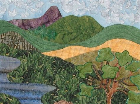 landscape quilting quilts quilting