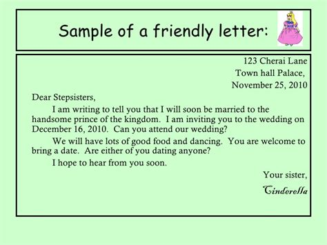 Friendly Letter Closing Your Friend Letter Writing 2 11