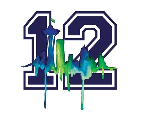 seattle seahawks 12th man 3 x 5 single sided horizontal