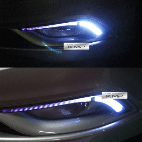 Lu Led Drl Motor hi led daytime running light daylight drl for hyundai