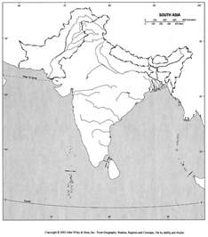 blank us map with rivers and mountains blank river map of india