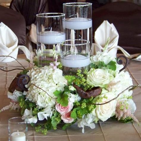 Top 11 Wedding Centerpieces Pretty Happy Love Wedding Candle And Flower Centerpieces