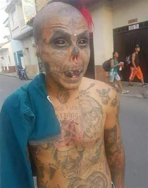kisah seram pria kolombia mutilasi wajah demi mirip