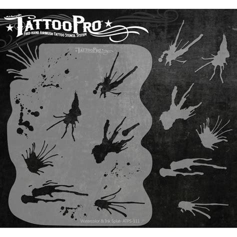 tattoo stencil printer ink tattoo pro stencil watercolor ink splat atps 111