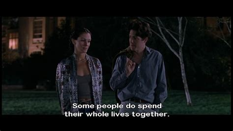 notting hill panchina notting hill quotes quotesgram