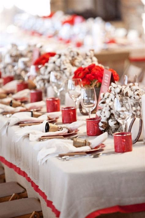 christmas table settings ideas 60 christmas dining table decor in red and white family