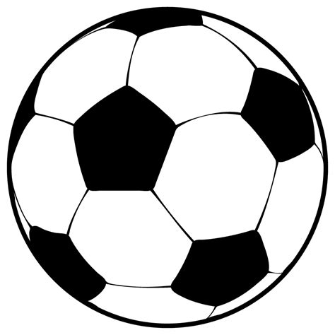Soccer Clip Free by Soccer Black And White Clip Images
