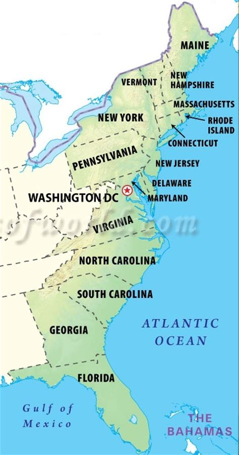 map us east coast east coast states related keywords suggestions east