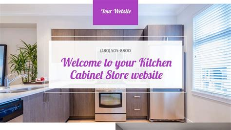 Kitchen Cabinet Websites | kitchen cabinet store website templates godaddy
