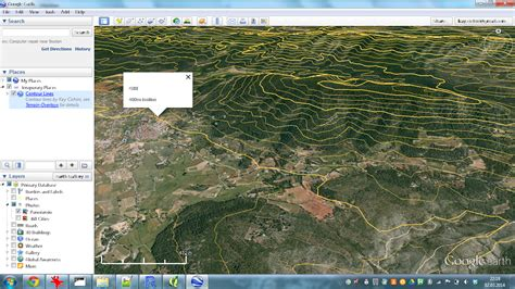 section lines on google earth thebiobucket use case make contour lines for google