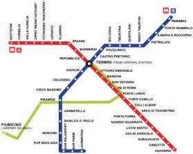 printable metro map rome metro map rome mappery