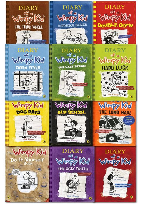 pictures of diary of a wimpy kid books diary of a wimpy kid collection 12 books set school