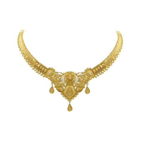 gold necklaces buy pushpam choker gold necklace of