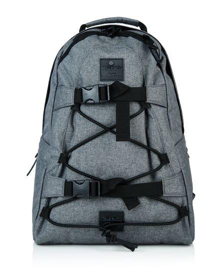 Tas Superdry Surplus Goods Backpack 1 mens surplus backpack in light grey marl superdry
