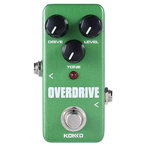 Kokko Mini Pedal Booster ammoon kokko fod3 mini overdrive pedal portable guitar effect pedal guitar buy free
