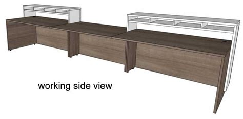 2 person reception desk contrasts custom 2 person reception desk 16 w desk