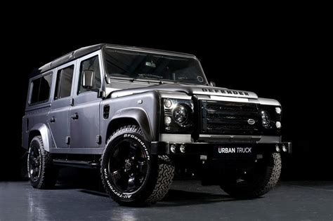 range rover truck land rover defender tuned by urban truck speed carz