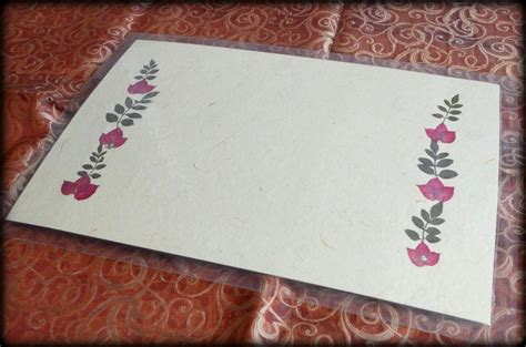 Handmade Table Mats - handmade paper table mats 2pe set shopping