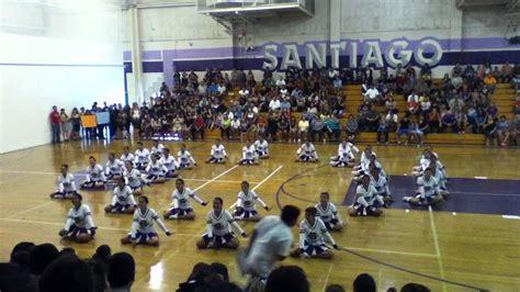 Garden Grove Bulldogs Santiago High School Drill Team